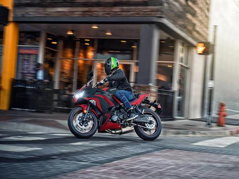 2021 Kawasaki Ninja 650 ABS in Clearwater, Florida - Photo 10