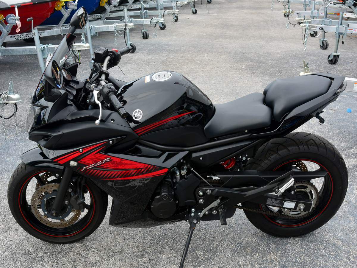 2012 Yamaha FZ6R for sale 348