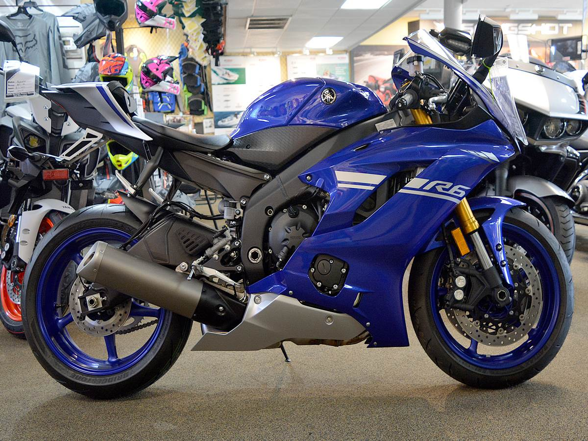 2017 Yamaha YZF-R6 in Clearwater, Florida