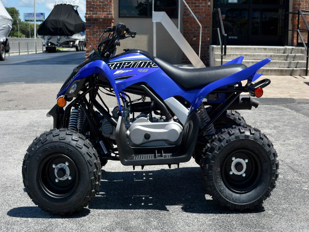 2021 Yamaha Raptor 90 in Clearwater, Florida - Photo 1