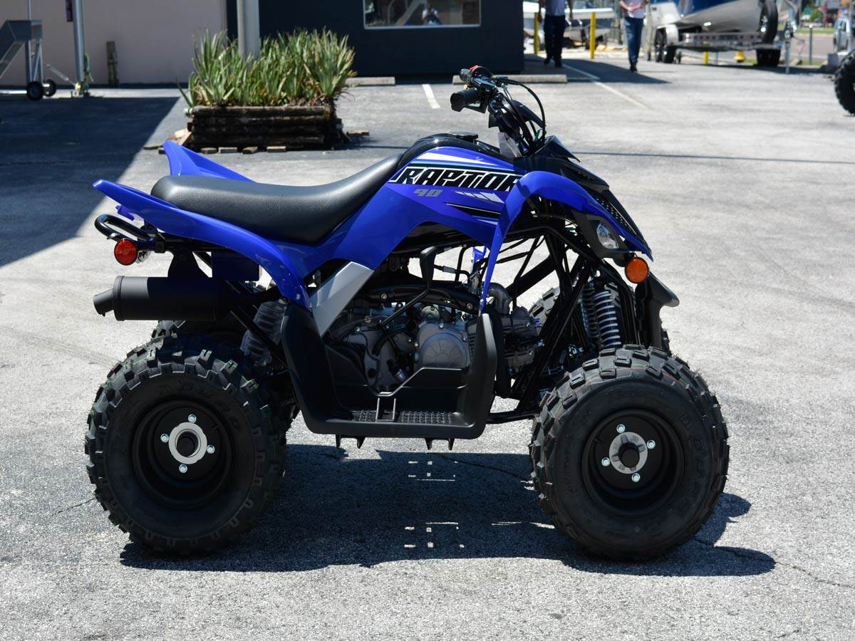2021 Yamaha Raptor 90 in Clearwater, Florida - Photo 2