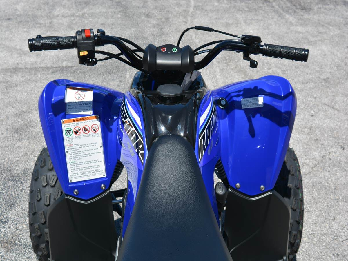 2021 Yamaha Raptor 90 in Clearwater, Florida - Photo 9