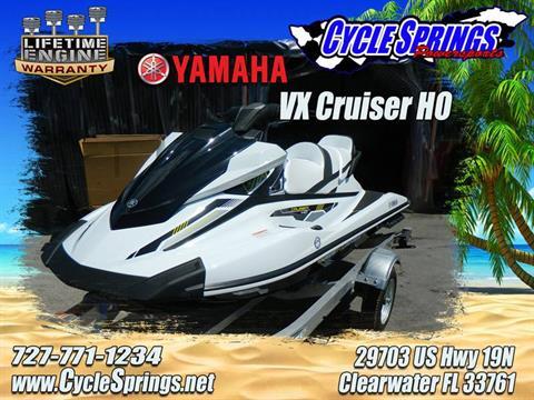 2017 Yamaha VX Cruiser HO in Clearwater, Florida