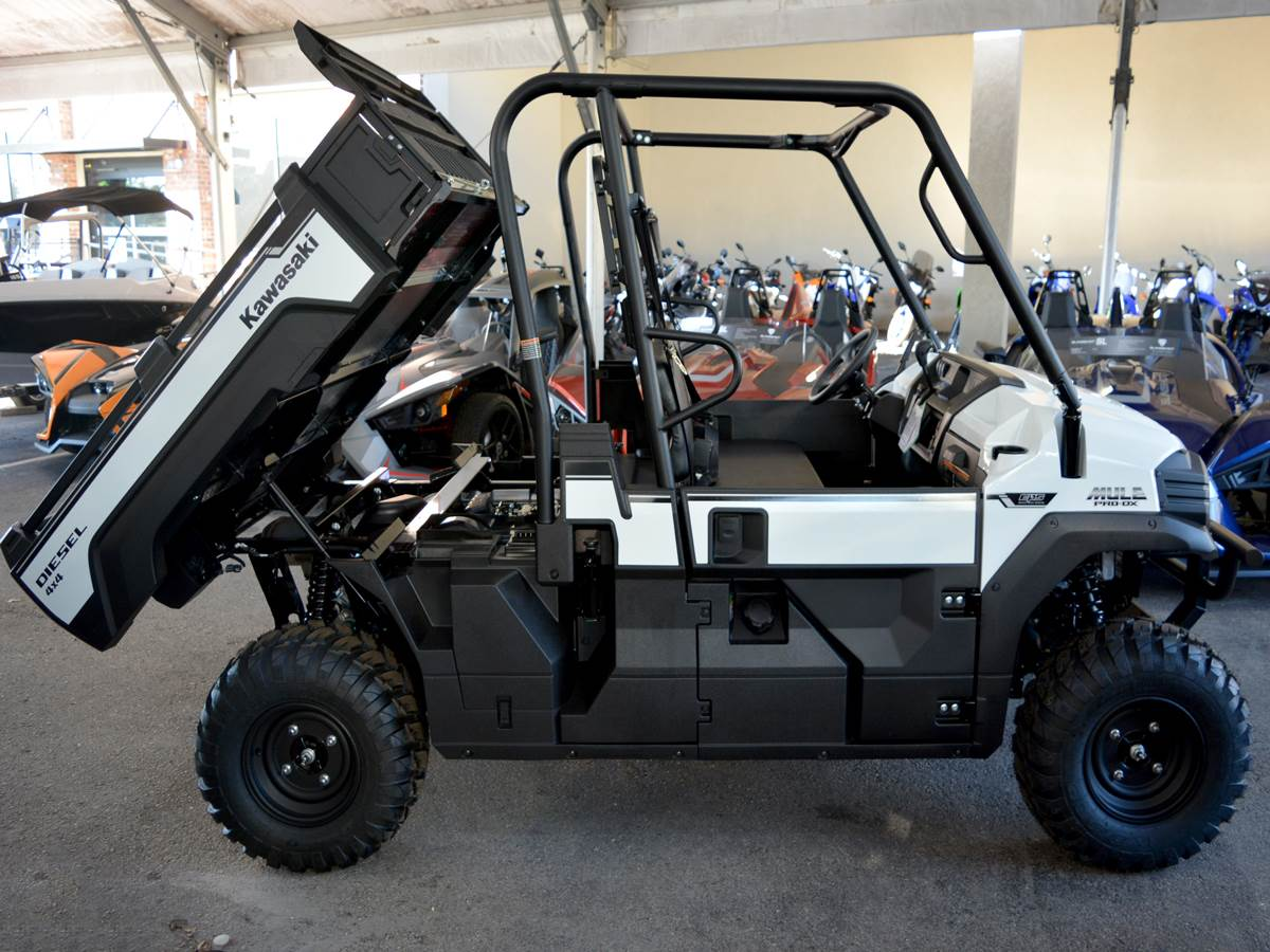 2019 Kawasaki Mule PRO-DX EPS Diesel in Clearwater, Florida