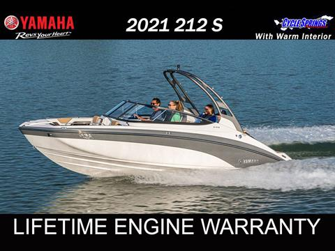 2021 Yamaha 212S in Clearwater, Florida - Photo 1