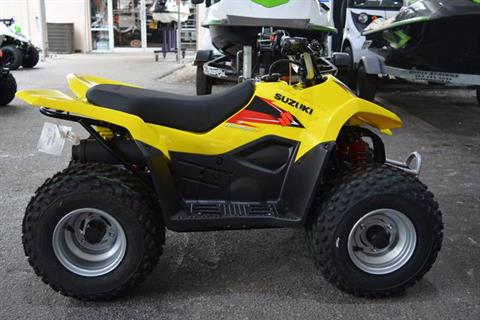 2018 Suzuki QuadSport Z50 in Clearwater, Florida
