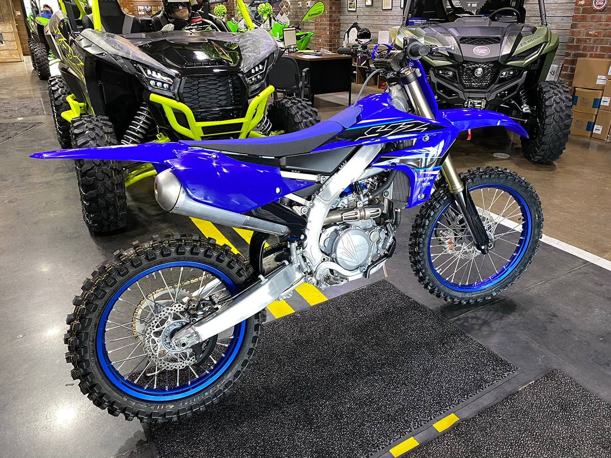 2021 Yamaha YZ450F in Clearwater, Florida - Photo 2