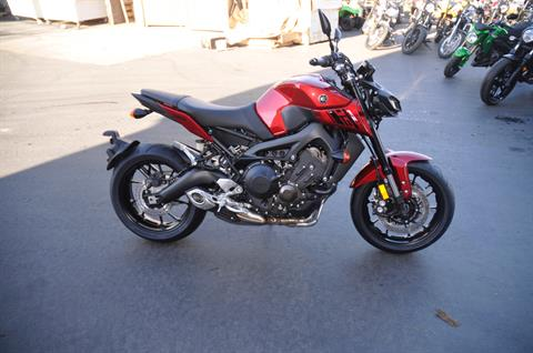 2017 Yamaha FZ-09 in Roseville, California