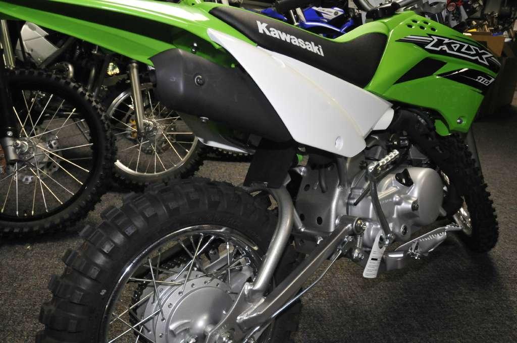 2016 Kawasaki KLX110 in Roseville, California