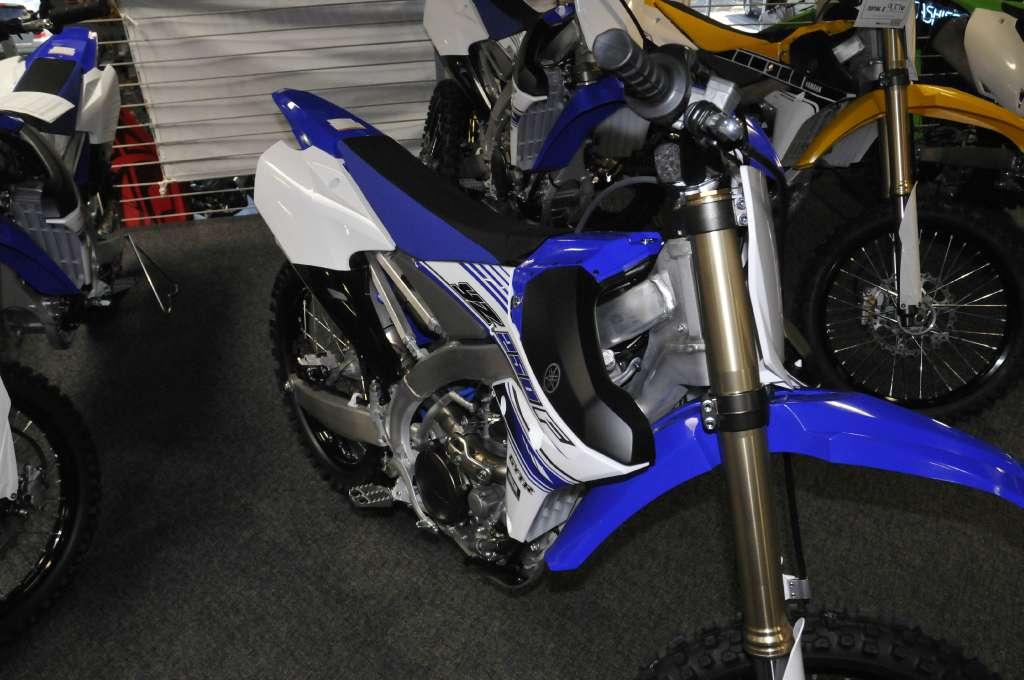 2016 Yamaha YZ250F Yamaha Blue in Roseville, California
