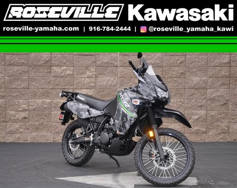 2017 Kawasaki KLR650 in Roseville, California