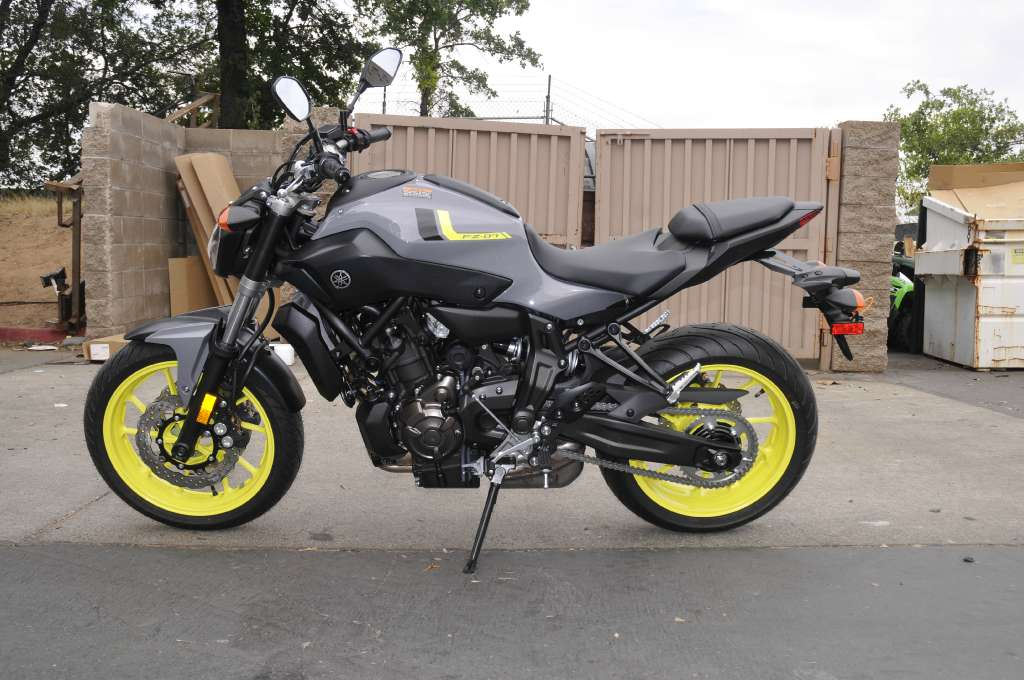 2016 Yamaha FZ-07 in Roseville, California