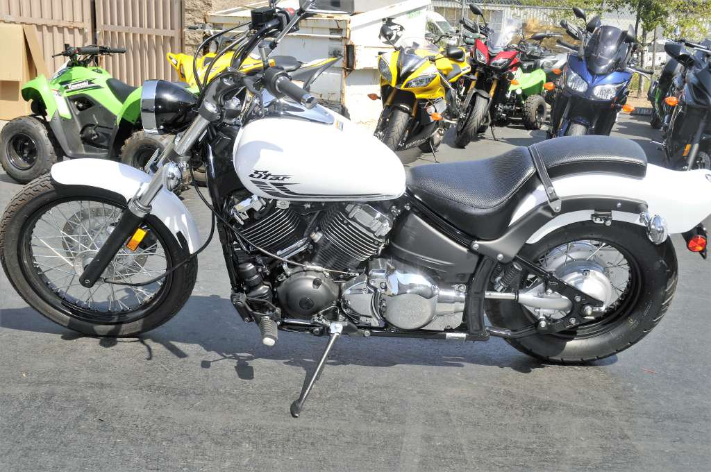 2016 Yamaha V Star 650 Custom in Roseville, California