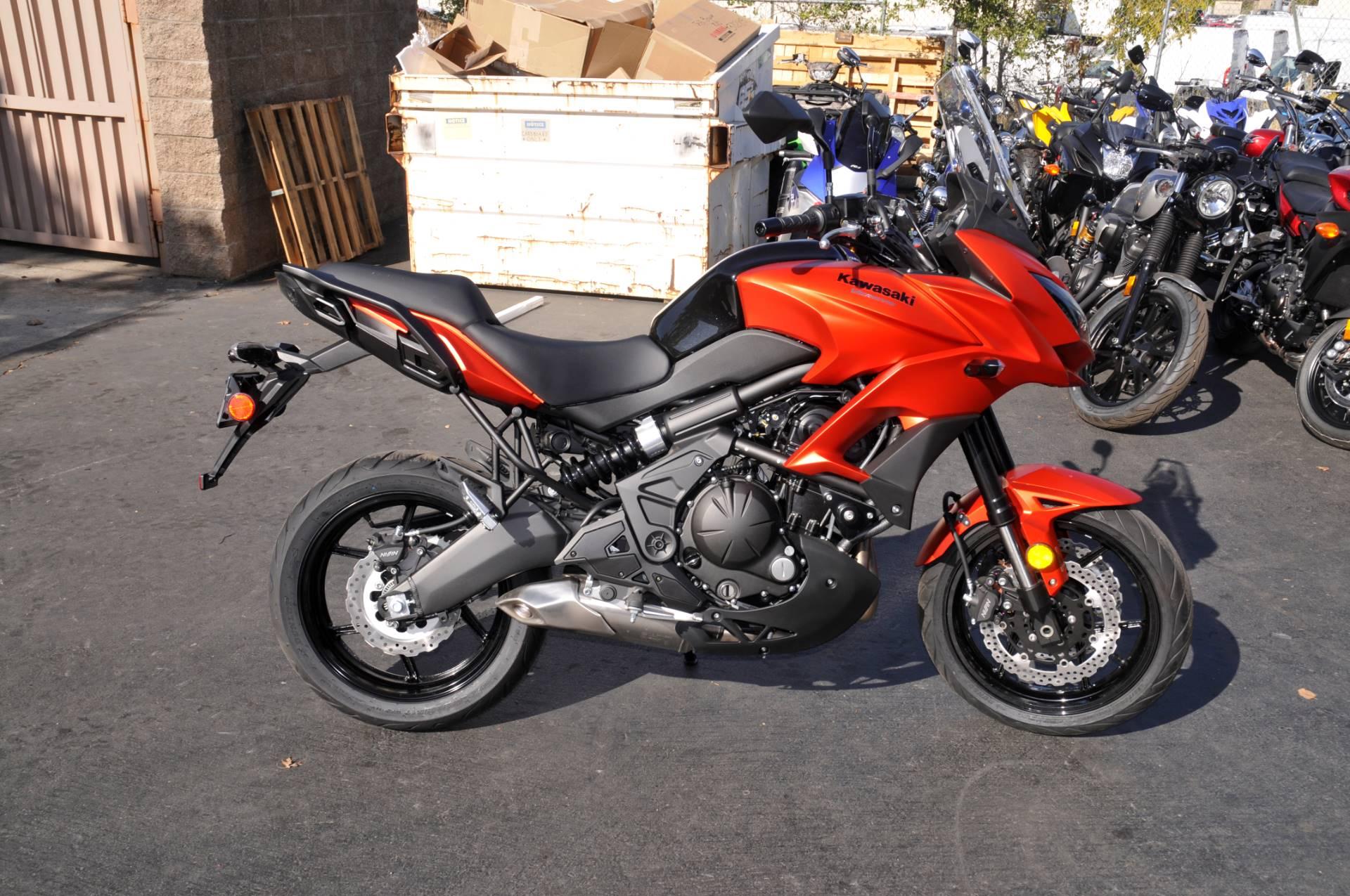 2016 Kawasaki Versys 650 LT in Roseville, California