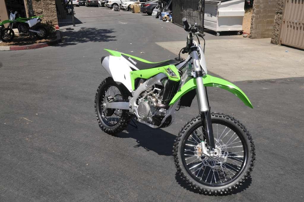 2017 Kawasaki KX450F in Roseville, California