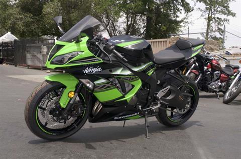 2016 Kawasaki Ninja ZX-6R ABS KRT Edition in Roseville, California