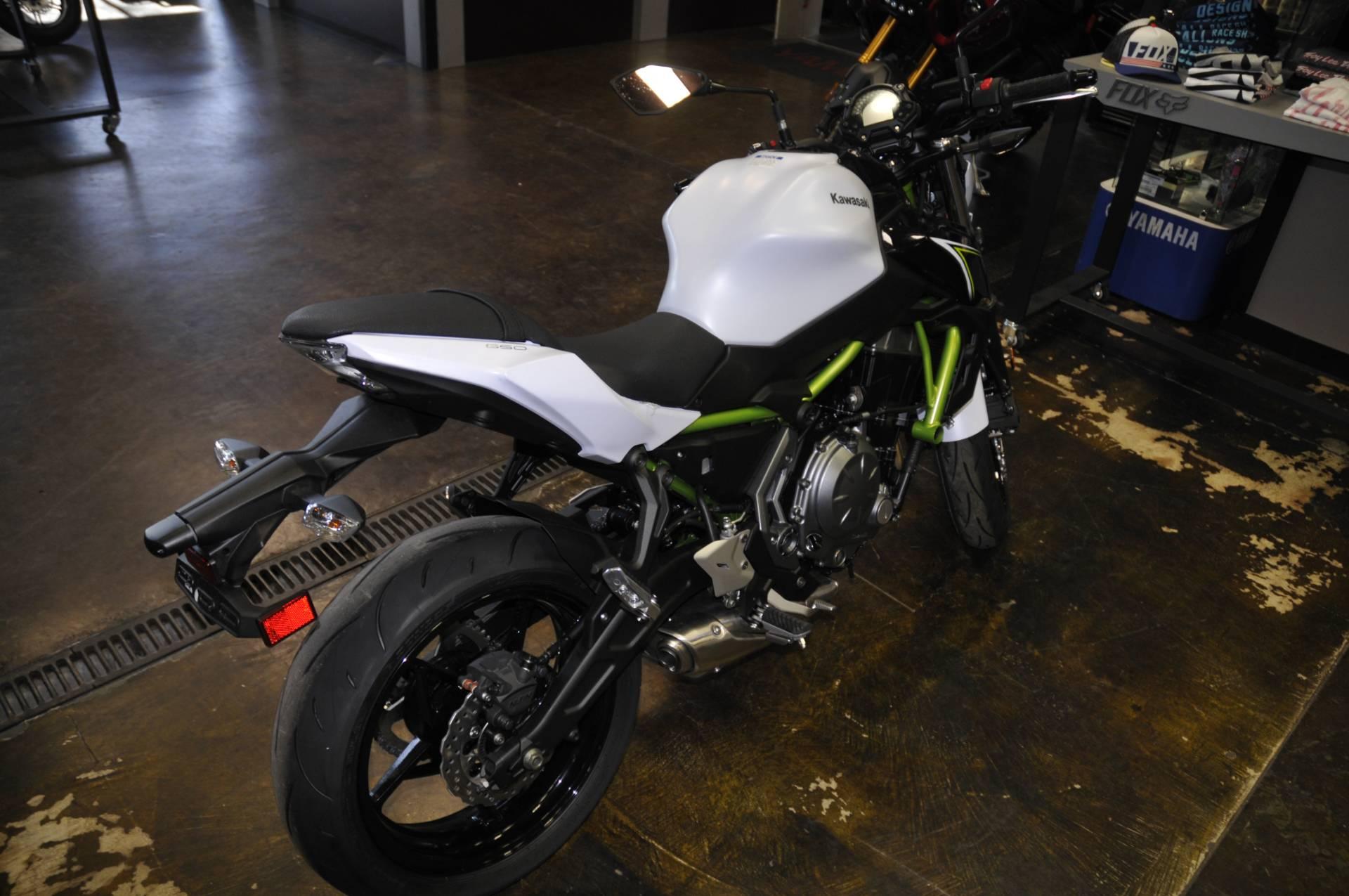2017 Kawasaki Z650 in Roseville, California