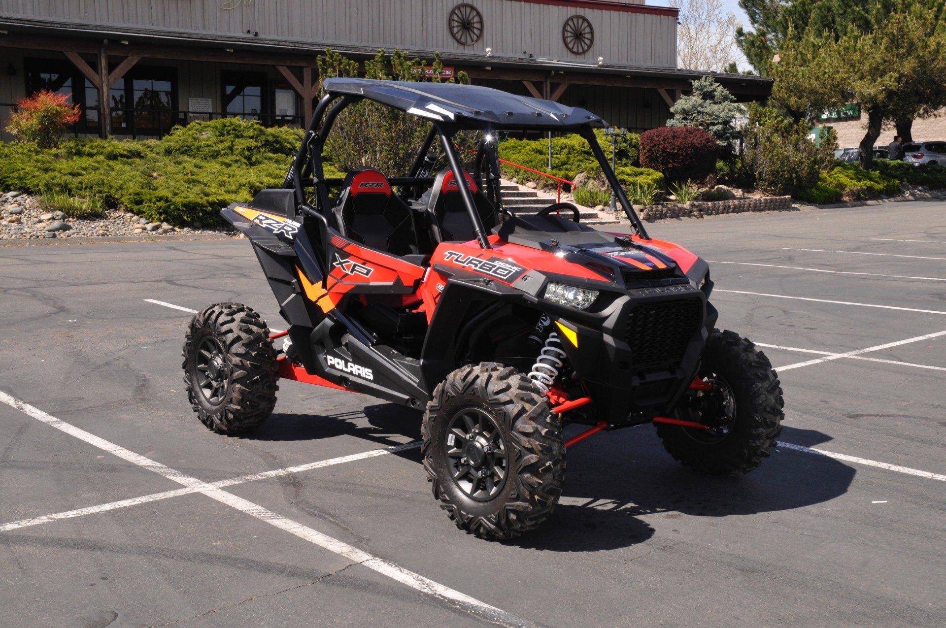 2017 Polaris RZR XP Turbo EPS in Roseville, California
