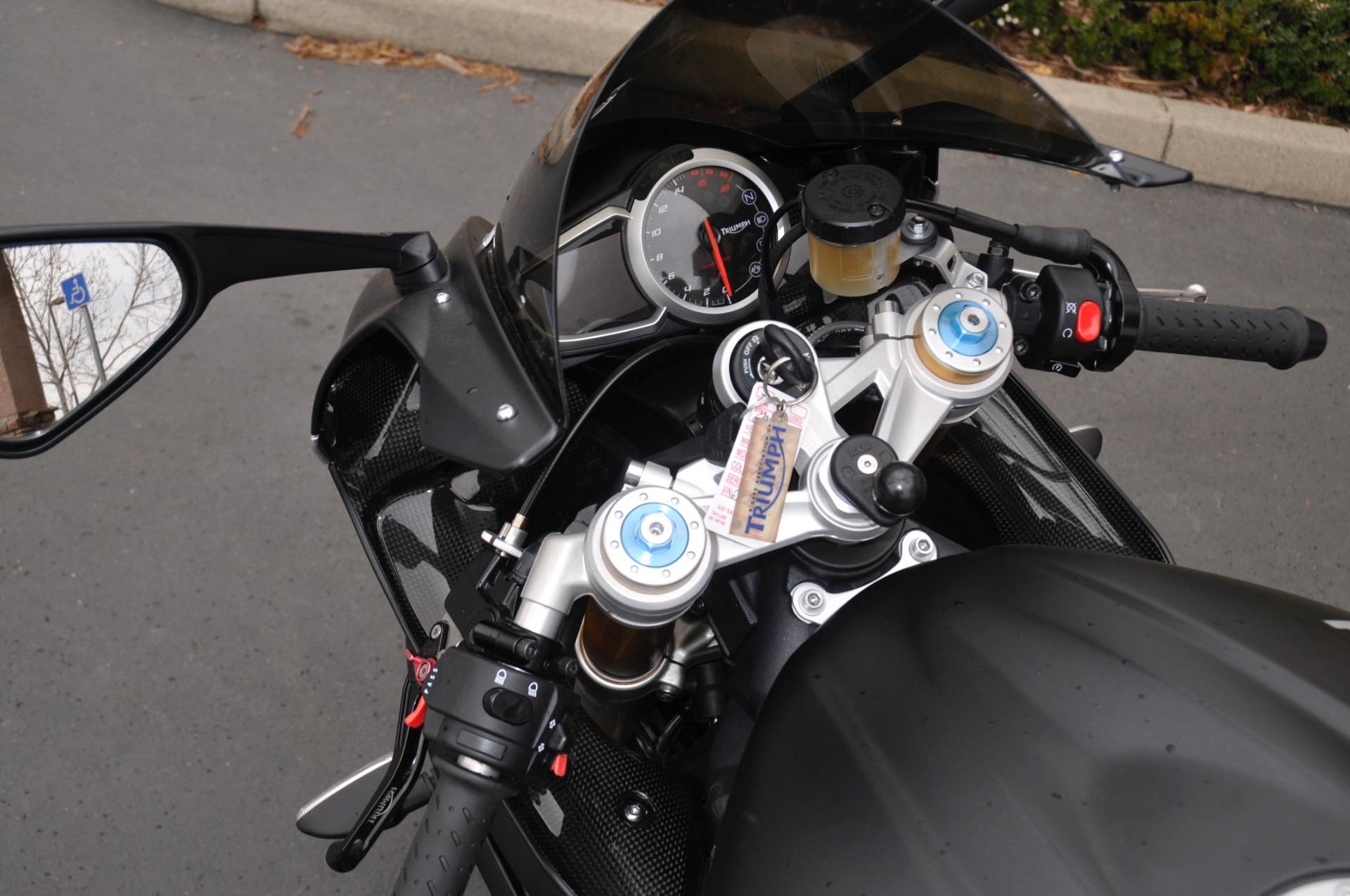 2015 Triumph Daytona 675R ABS in Roseville, California
