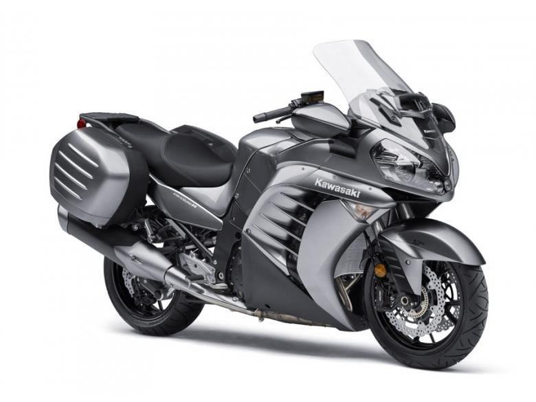 2016 Kawasaki Concours 14 ABS Metallic Moondust Gray in Roseville, California
