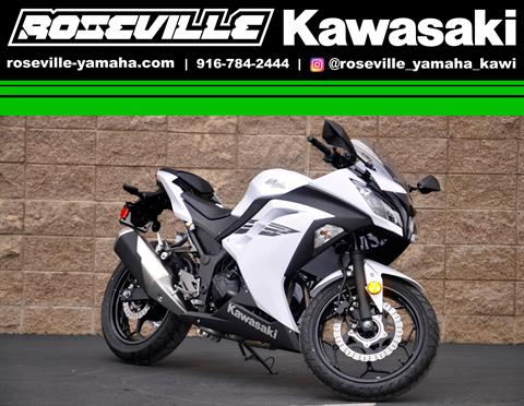 2017 Kawasaki Ninja 300 ABS in Roseville, California