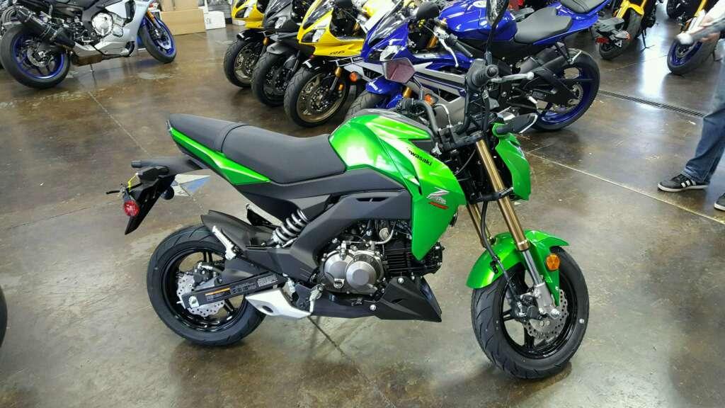 2017 Kawasaki Z125 Pro in Roseville, California