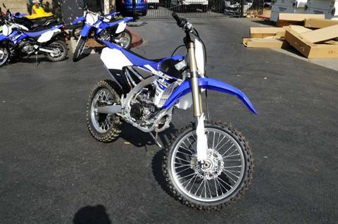 2016 Yamaha YZ250FX in Roseville, California