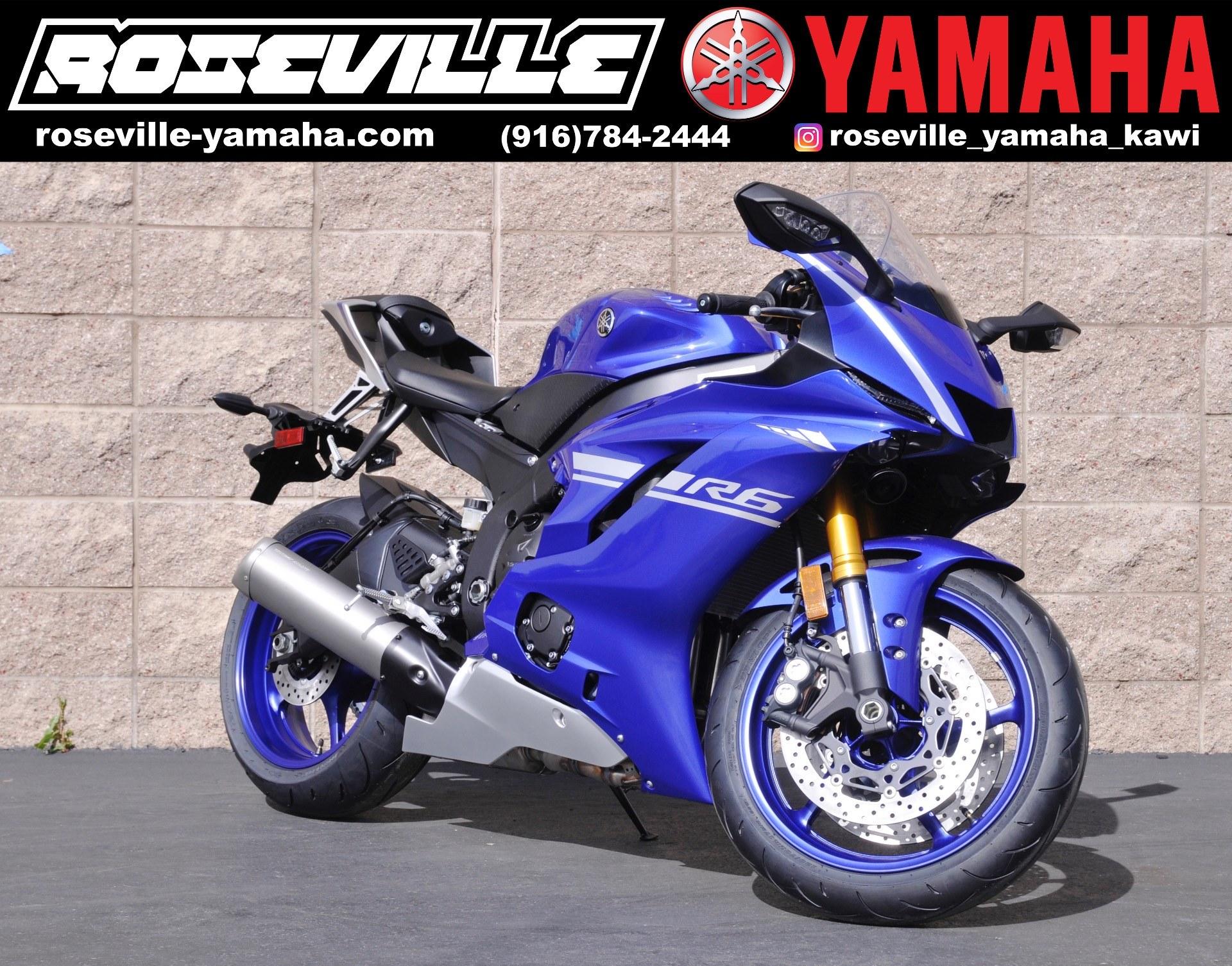 2017 Yamaha YZF-R6 in Roseville, California