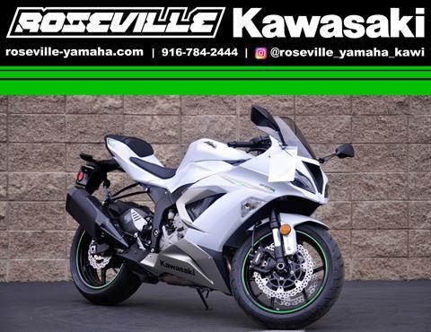 2017 Kawasaki NINJA ZX-6R ABS* in Roseville, California