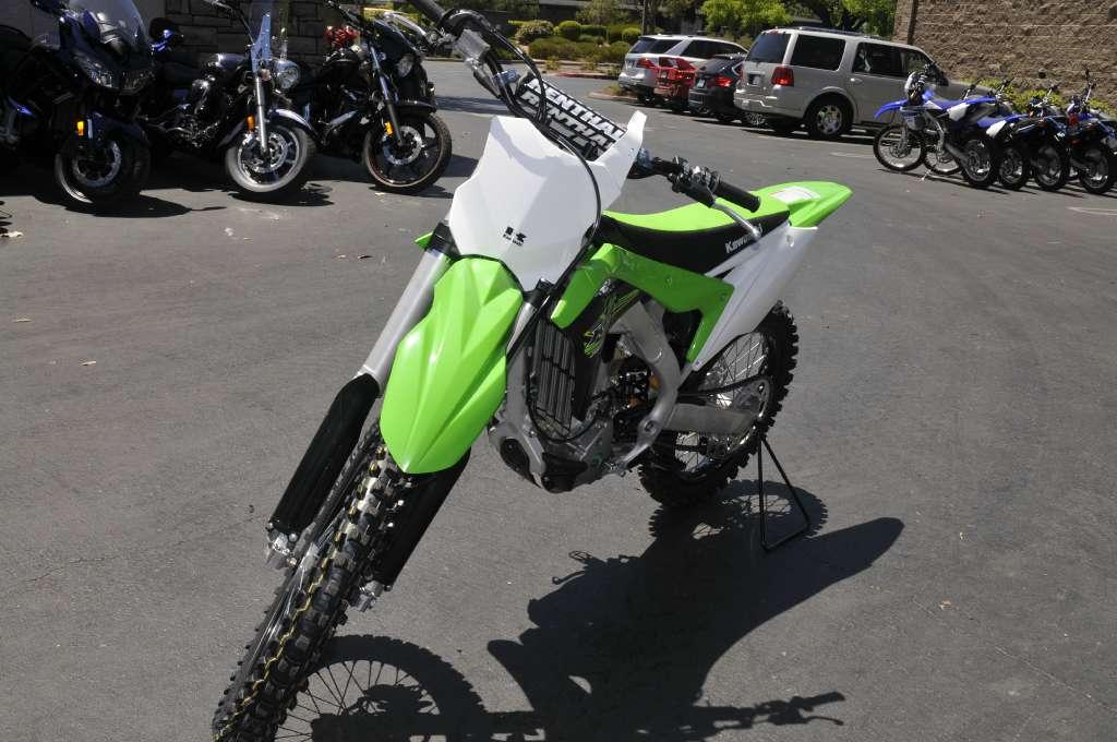 2017 Kawasaki KX250F in Roseville, California