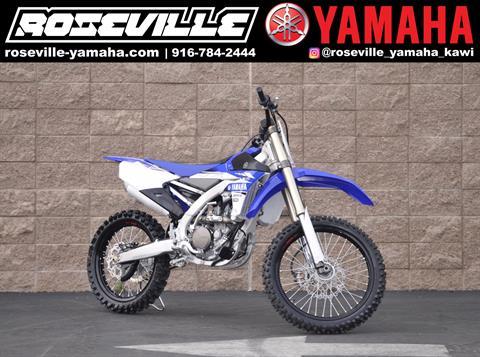 2017 Yamaha YZ250F in Roseville, California