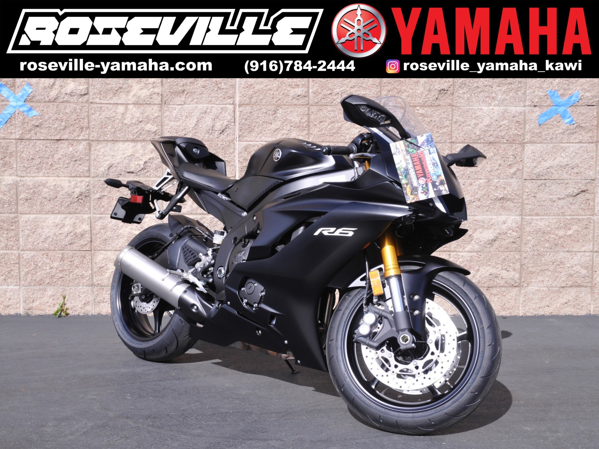 2017 Yamaha YZF-R6 in Roseville, California