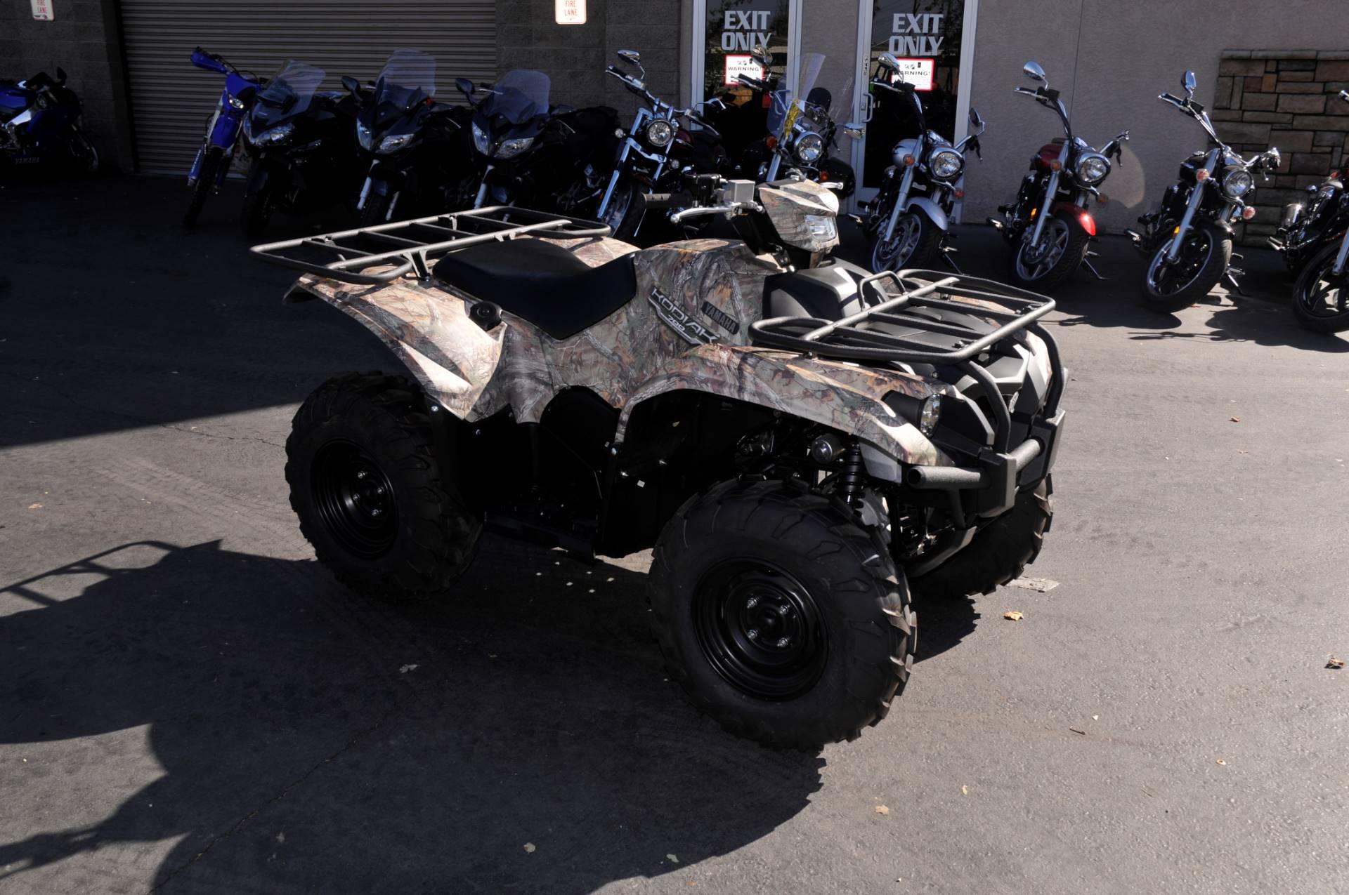 2016 Yamaha Kodiak 700 EPS in Roseville, California