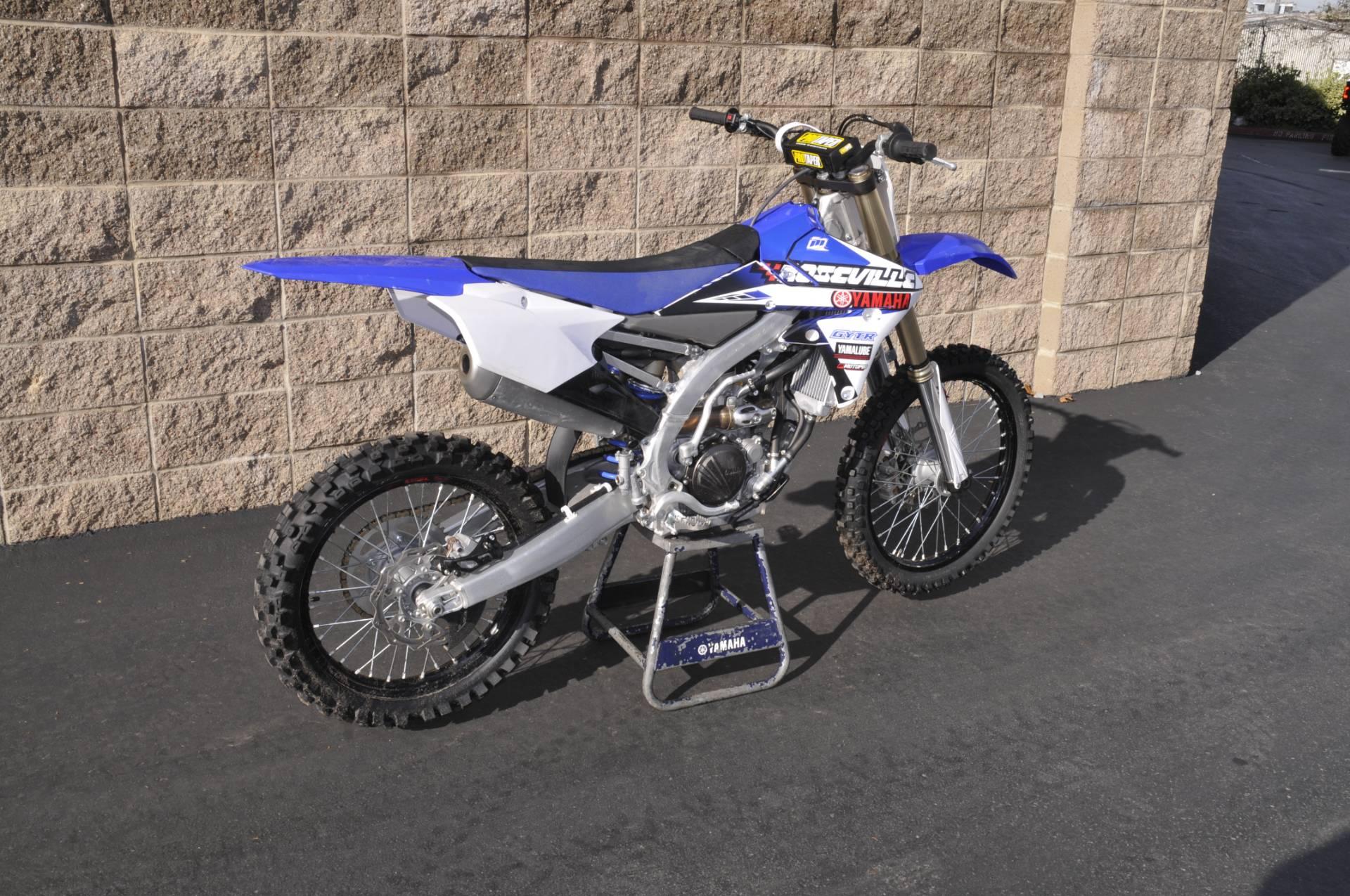 2016 Yamaha YZ250F in Roseville, California