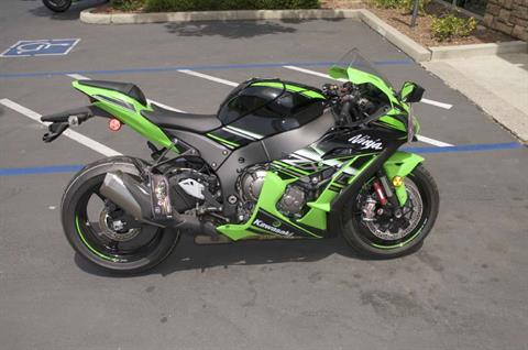 2016 Kawasaki Ninja ZX-10R ABS KRT Edition in Roseville, California