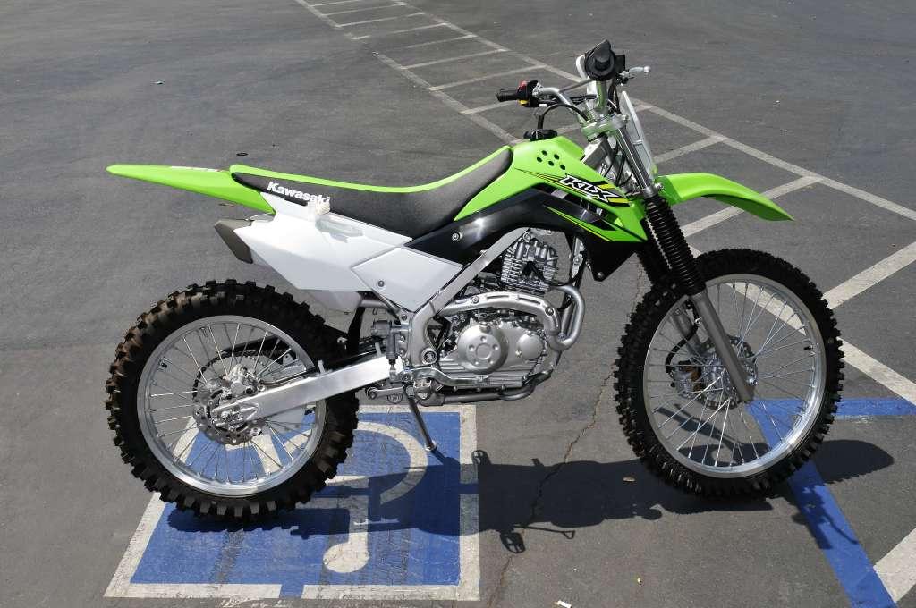 2017 Kawasaki KLX140G in Roseville, California