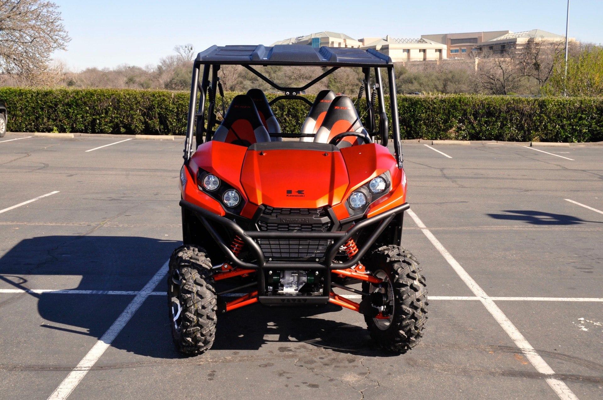 2017 Kawasaki Teryx4 LE in Roseville, California
