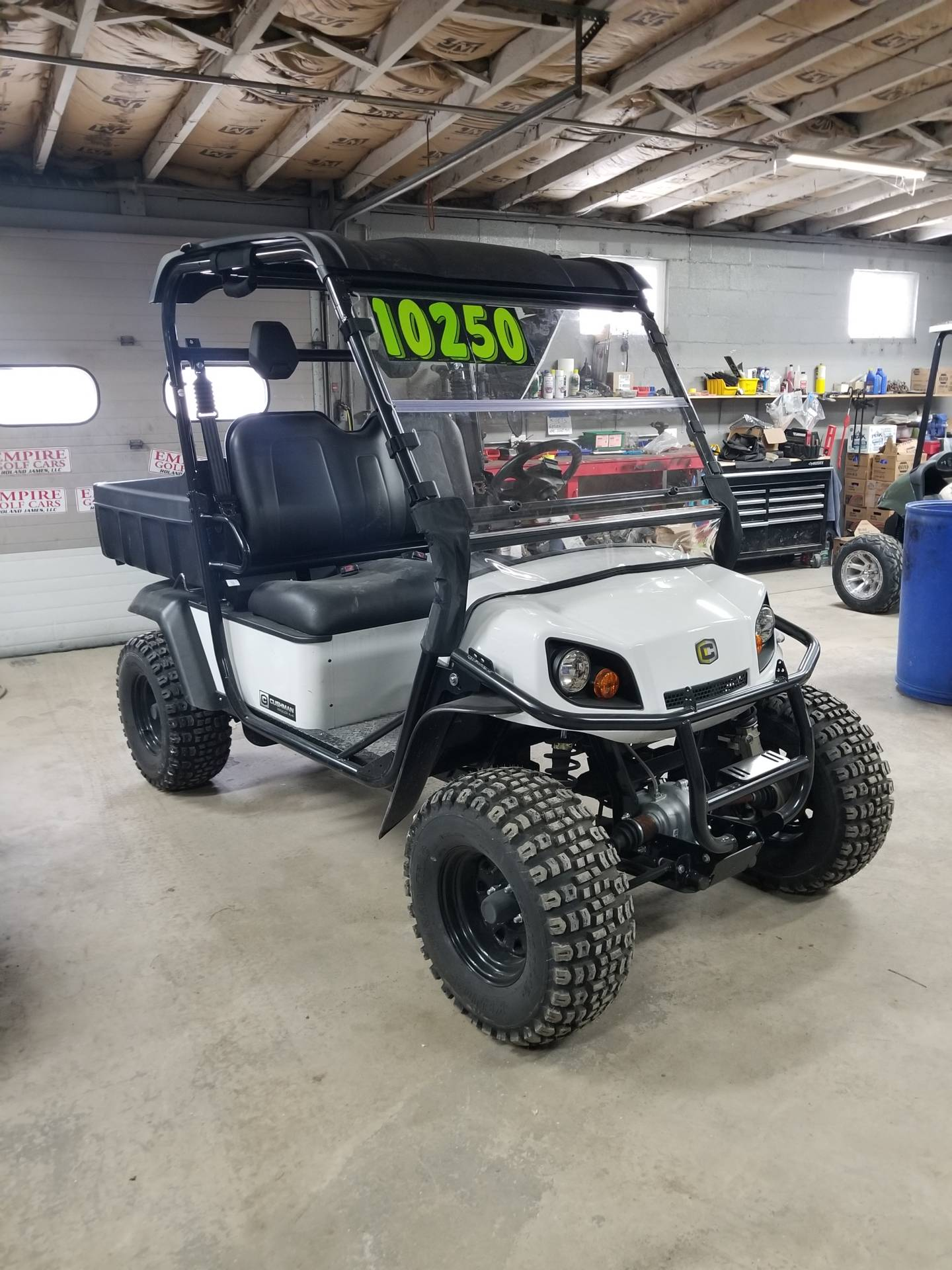 2017 Cushman Hauler 4X4 Gas in Binghamton, New York - Photo 4
