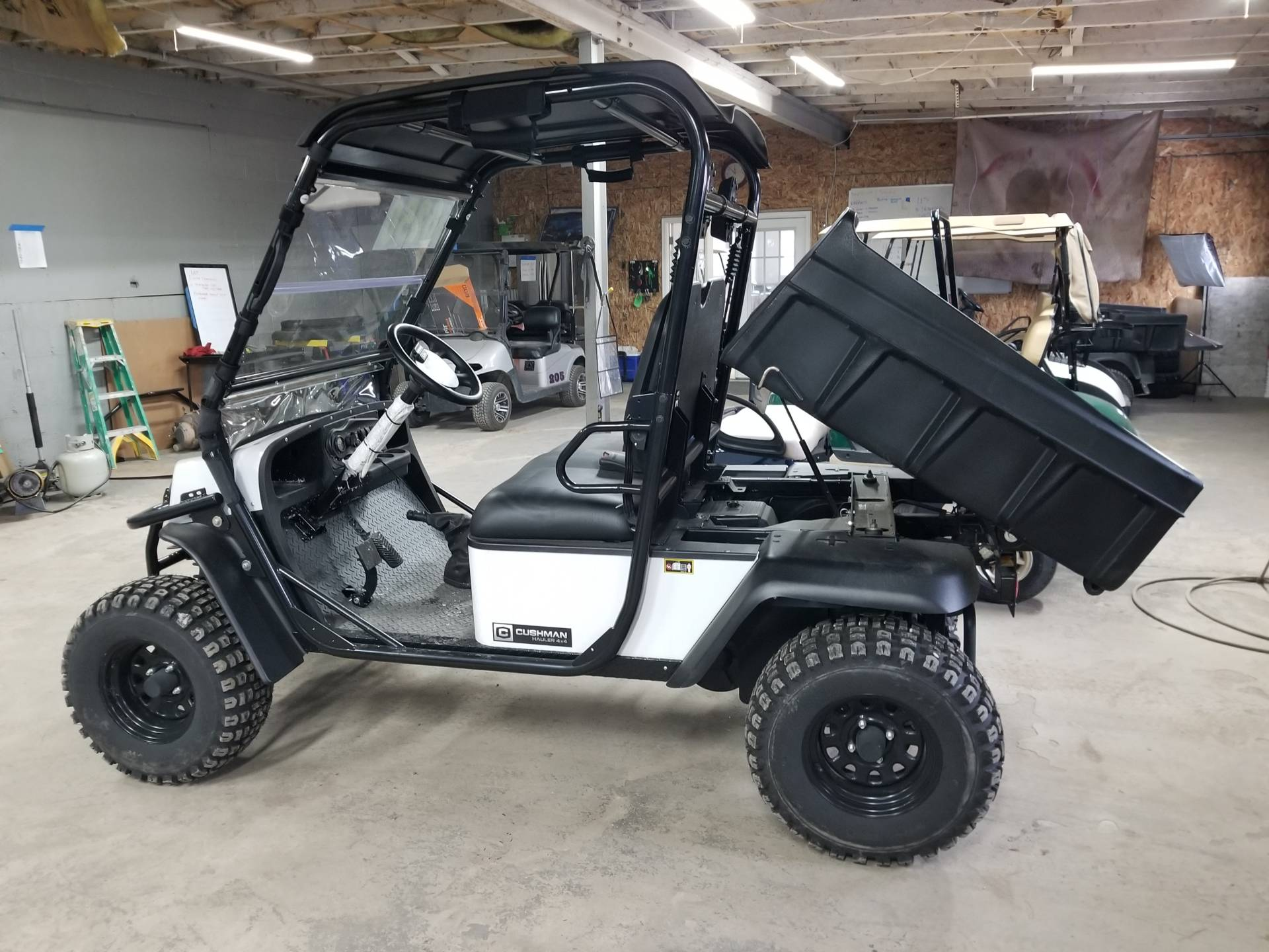 2017 Cushman Hauler 4X4 Gas in Binghamton, New York - Photo 8