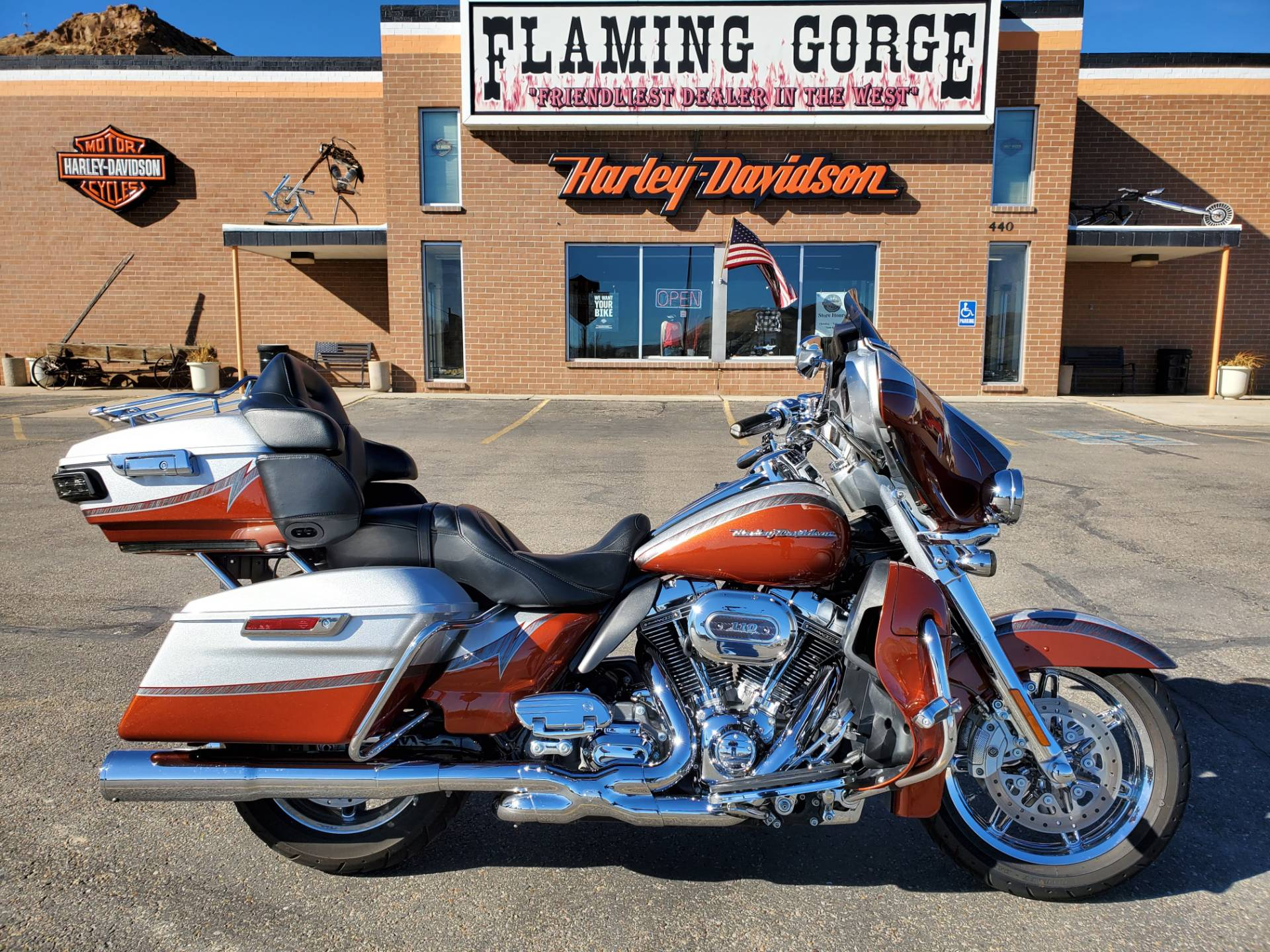 2014 Harley-Davidson CVO™ Limited in Green River, Wyoming - Photo 1