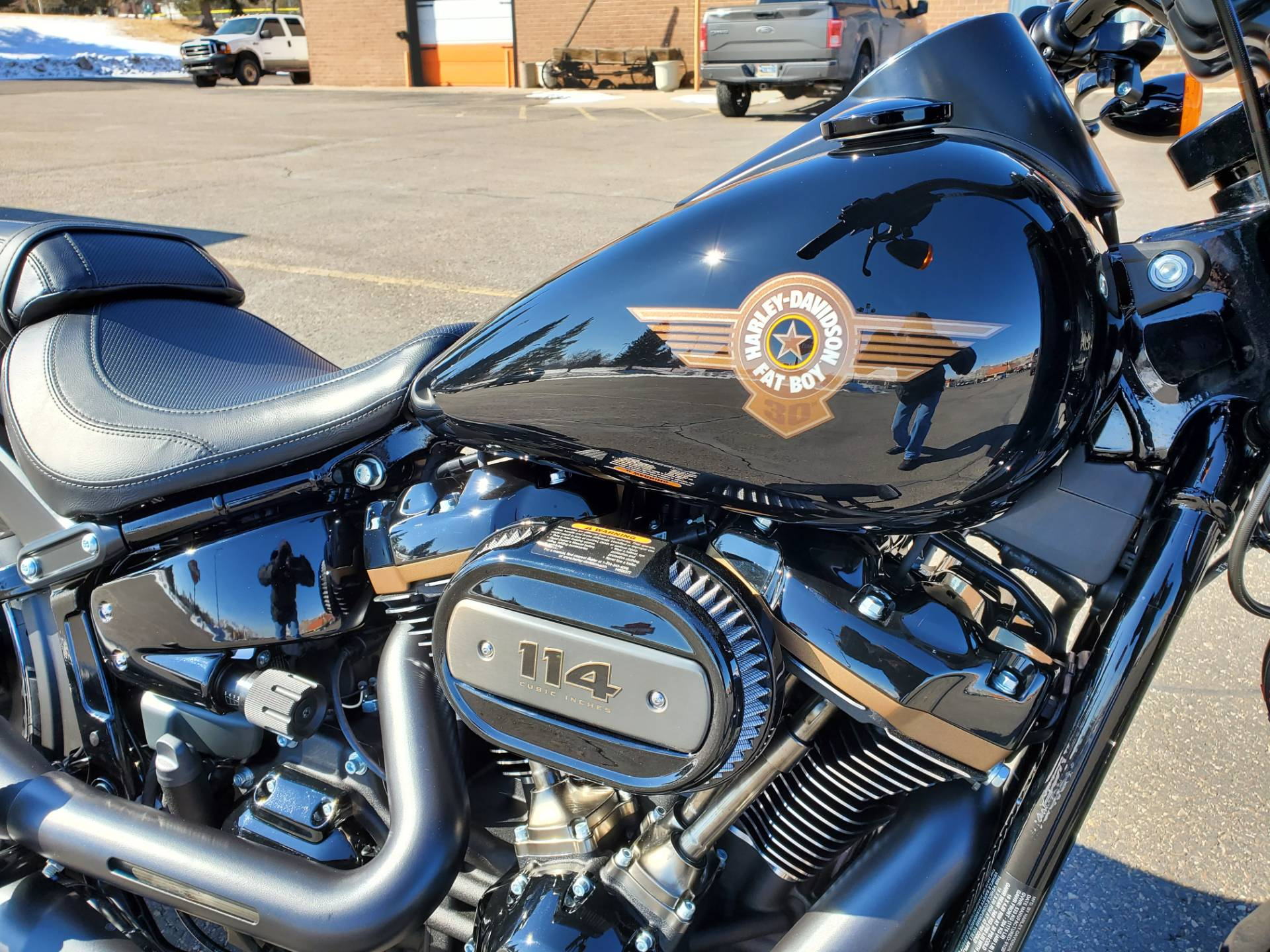 2020 Harley-Davidson Fat Boy® 114 30th Anniversary Limited Edition in Green River, Wyoming - Photo 9