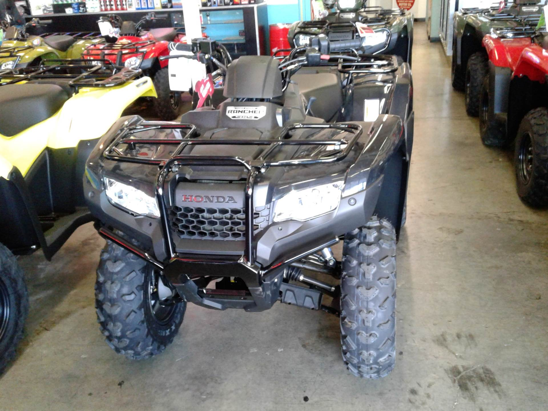 2017 Honda FourTrax Rancher 4x4 DCT IRS EPS in Albuquerque, New Mexico