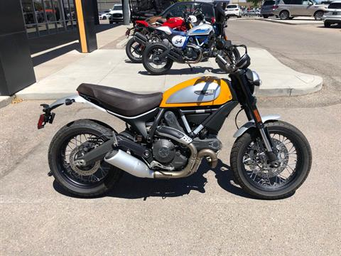 2016 Ducati Scrambler Classic in Albuquerque, New Mexico