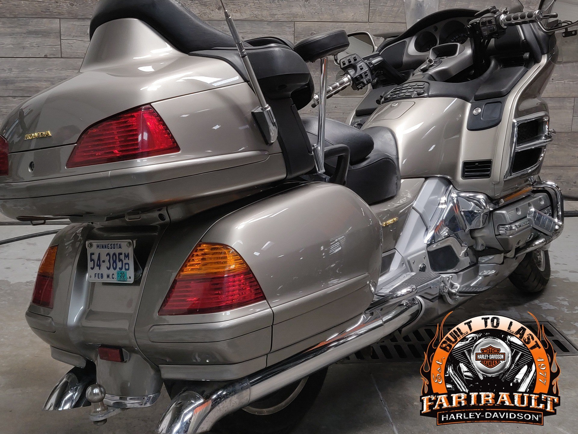 2002 Honda Gold Wing in Faribault, Minnesota - Photo 3