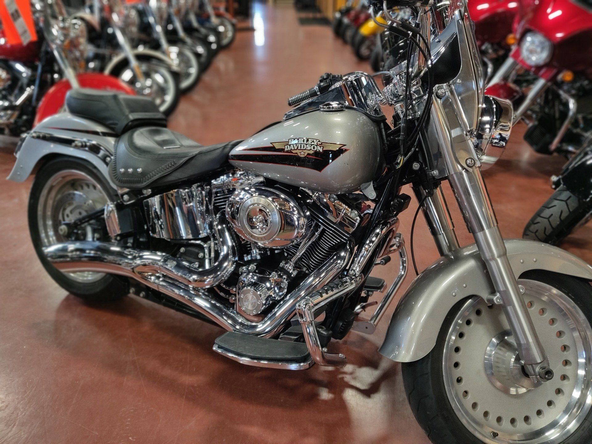 2009 Harley-Davidson Softail® Fat Boy® in Faribault, Minnesota - Photo 1