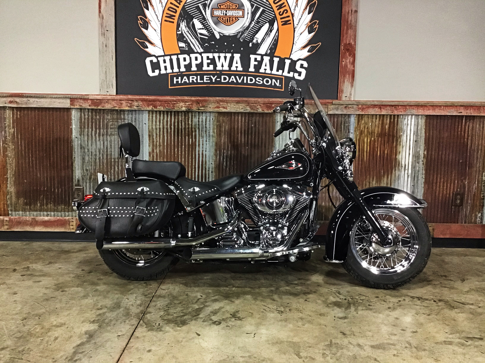 2014 Harley-Davidson Heritage Softail® Classic in Chippewa Falls, Wisconsin - Photo 1