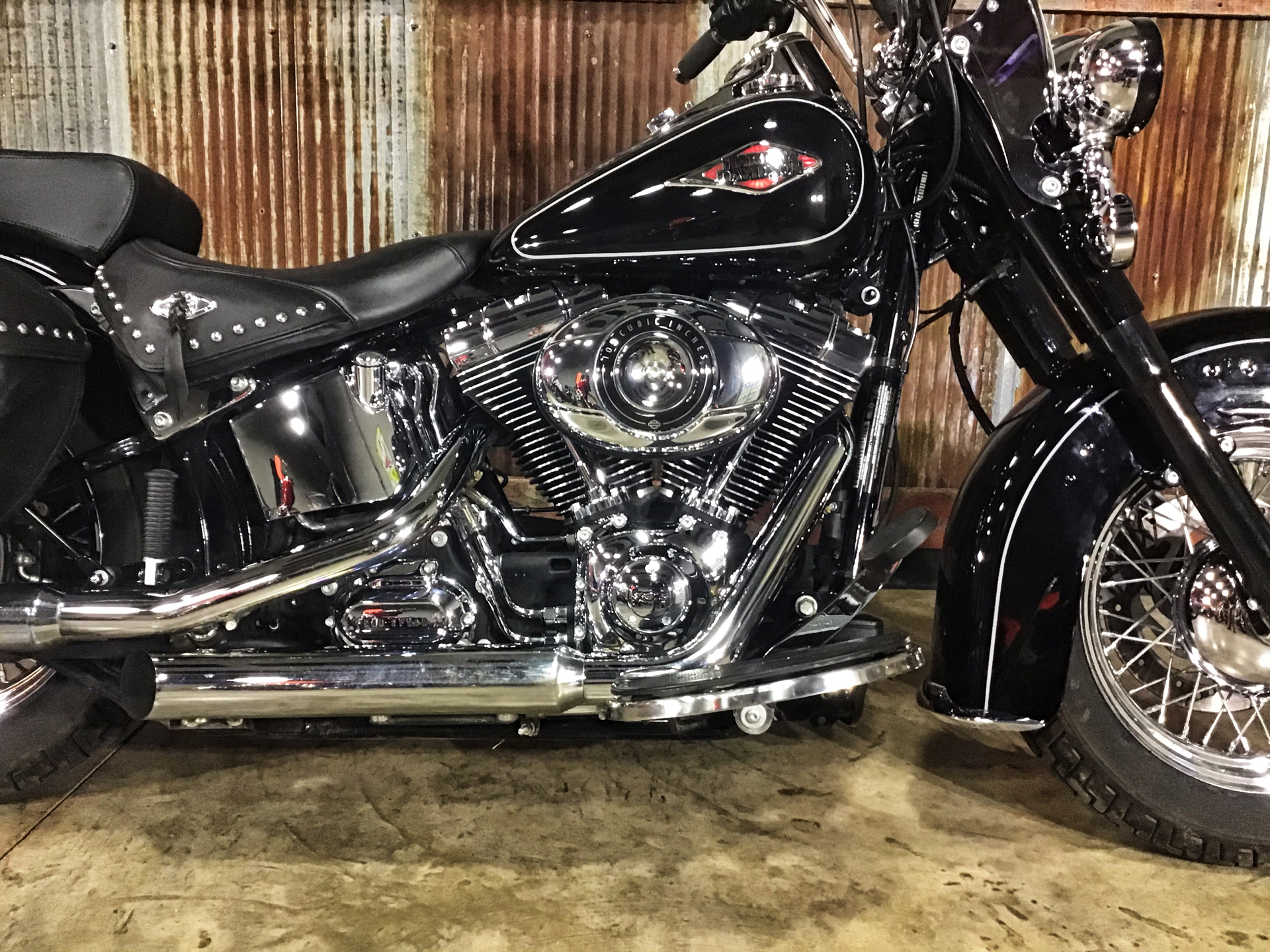 2014 Harley-Davidson Heritage Softail® Classic in Chippewa Falls, Wisconsin - Photo 5