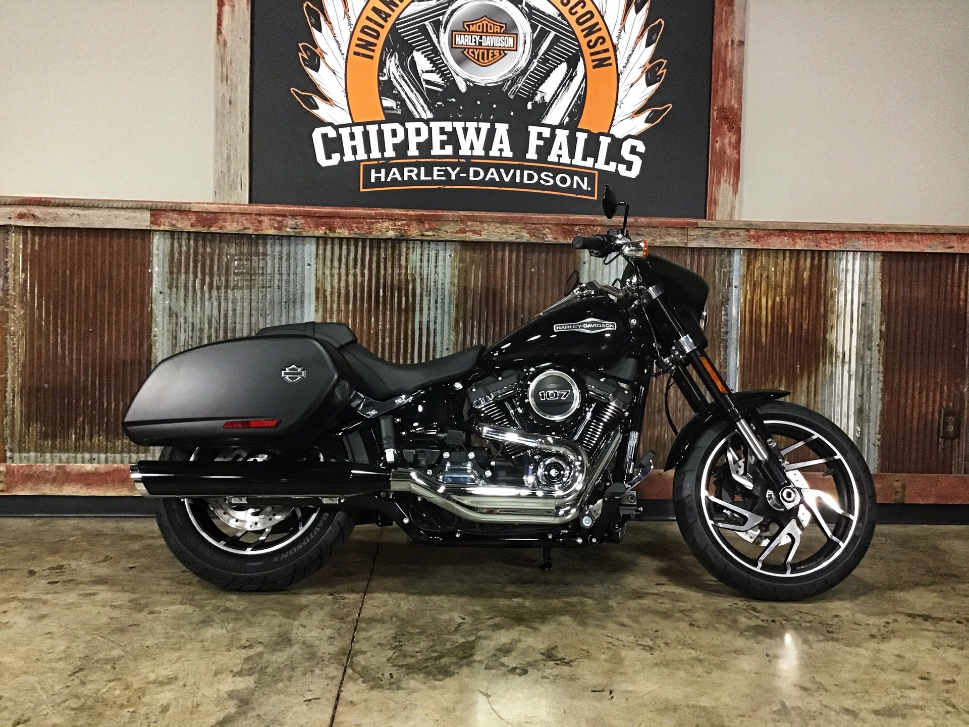 2020 Harley-Davidson Sport Glide® in Chippewa Falls, Wisconsin - Photo 1