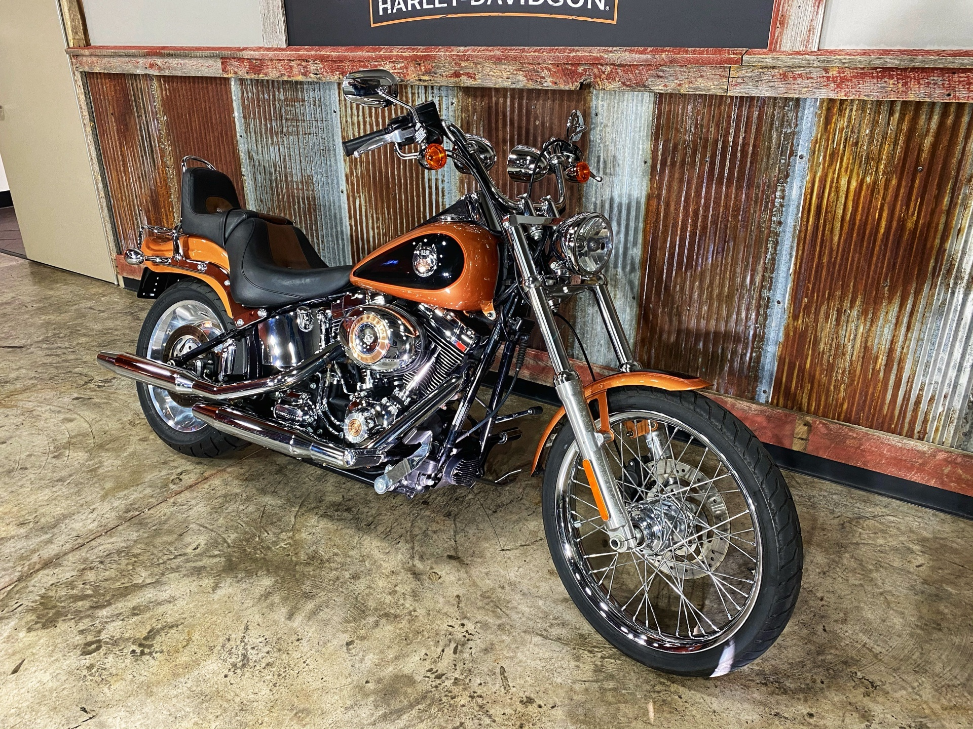 2008 Harley-Davidson FXSTC Softail® Custom in Chippewa Falls, Wisconsin - Photo 4