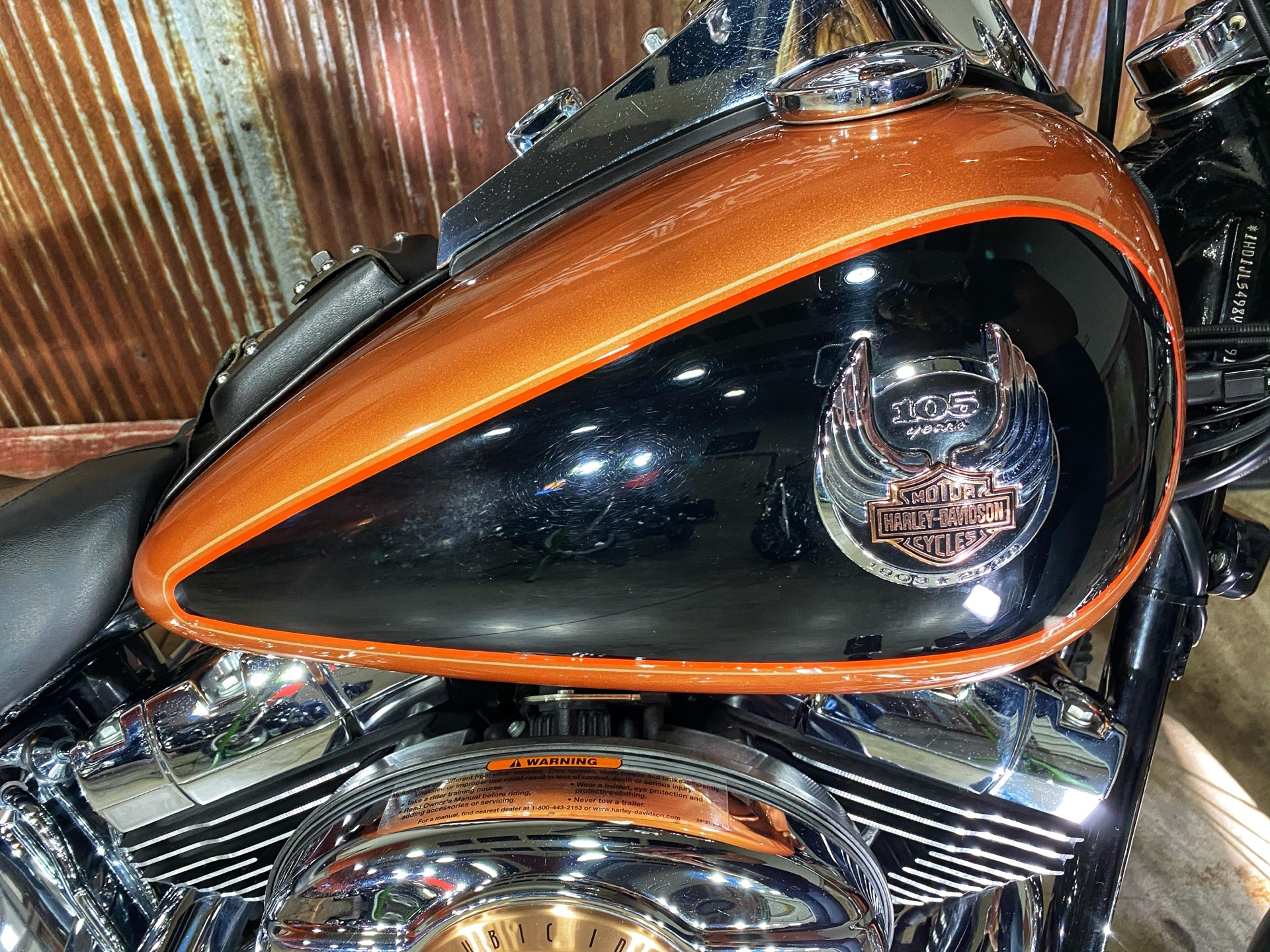 2008 Harley-Davidson FXSTC Softail® Custom in Chippewa Falls, Wisconsin - Photo 10